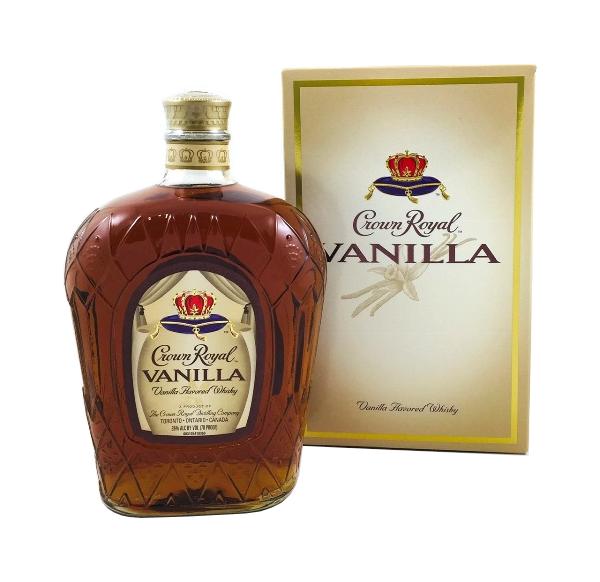 Spirituose der Marke Crown Royal Vanilla flavoured 35% 1l Flasche