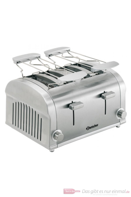 Bartscher 4 Scheiben Toaster Silverline 100202