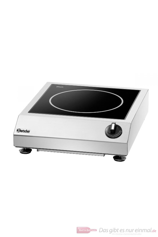 Bartscher Induktionstischherd mit einer Kochstelle 3.5 kW 230V 105984