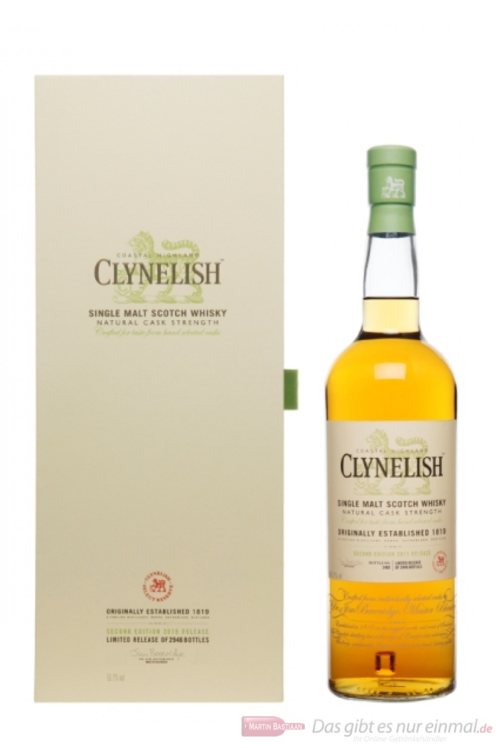 Clynelish Natural Cask Strength