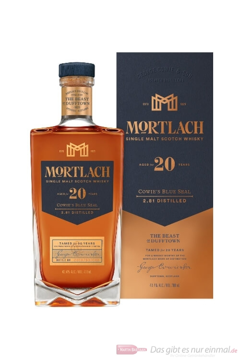Mortlach 20 Years COWIE'S BLUE SEAL