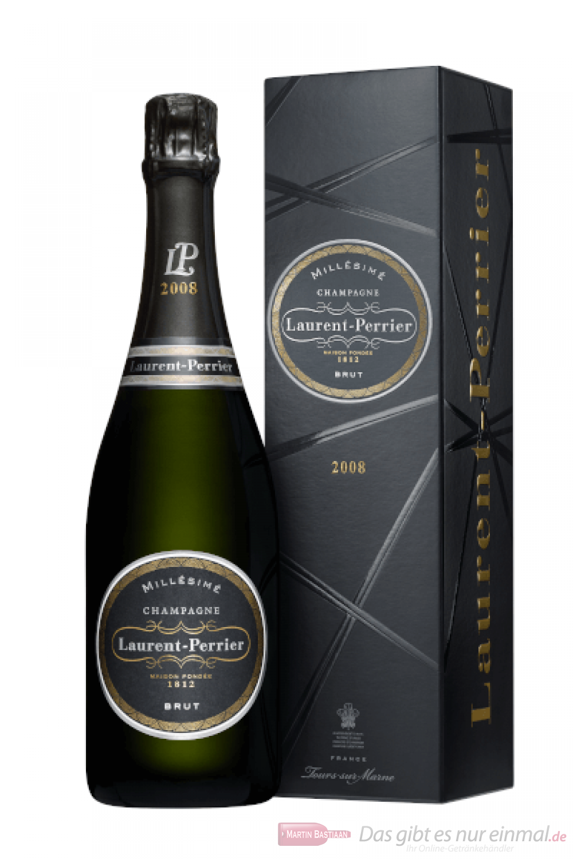 Laurent Perrier Millesime 2008 Brut GP Champagner 0,75l