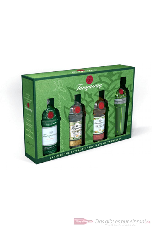 Tanqueray Miniaturen Set Gin 4-0,05l