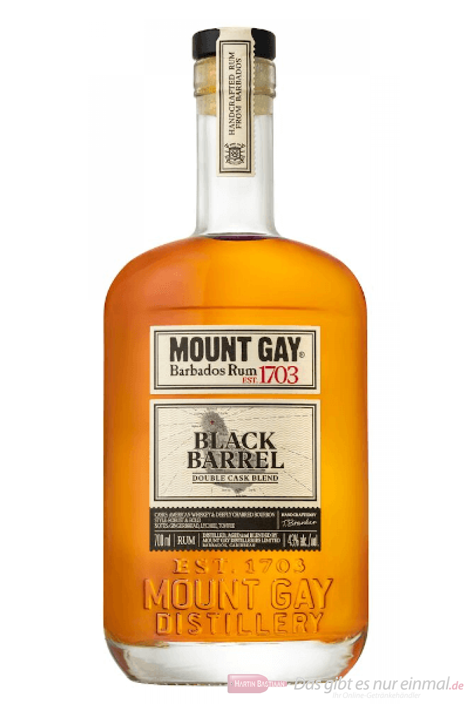 Mount Gay Black Barrel Barbados Rum 1,0l