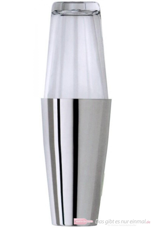 Contacto Boston Cocktail Shaker zweiteilig Edelstahl hochglänzend 0,5l