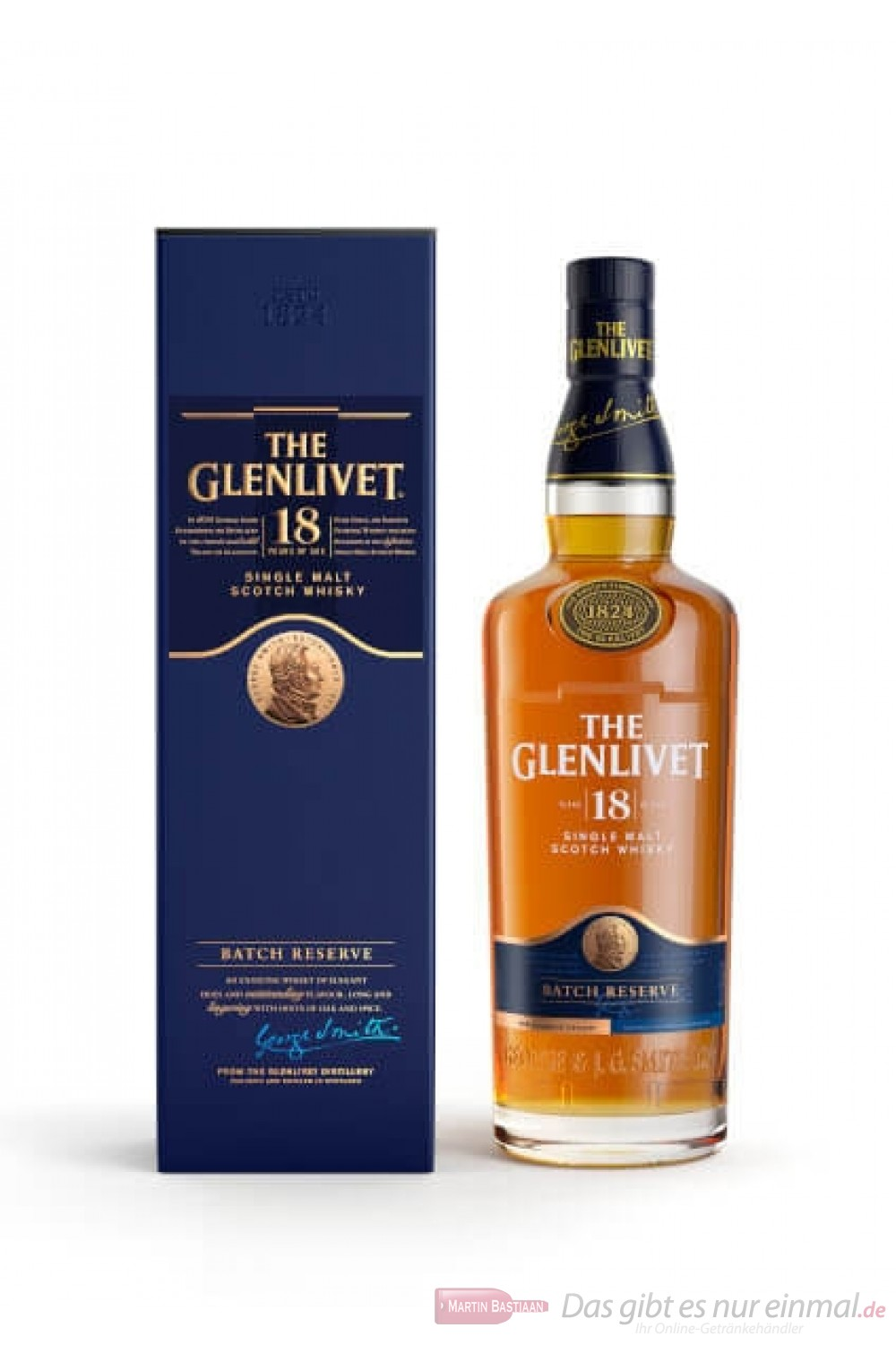 The Glenlivet 18 years New Design