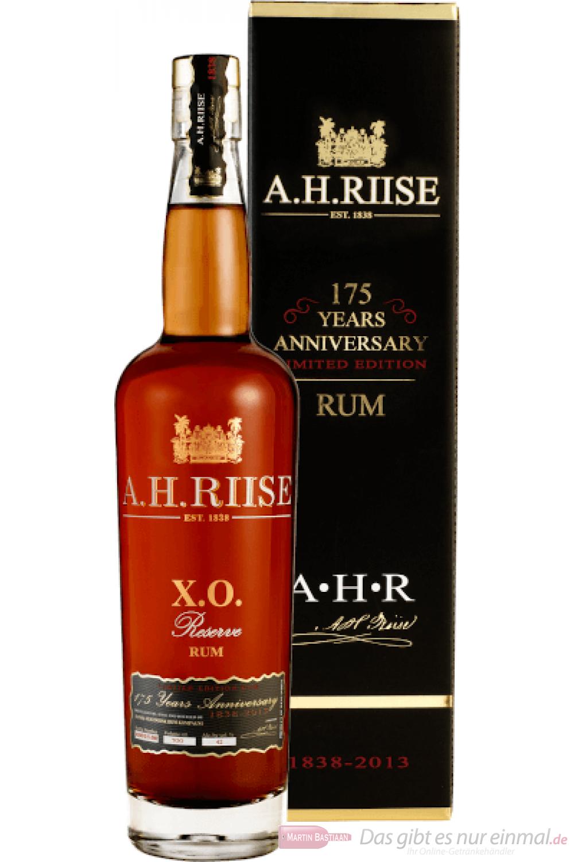 A. H. Riise X.O. Reserve 175 Anniversary Rum 0,7l