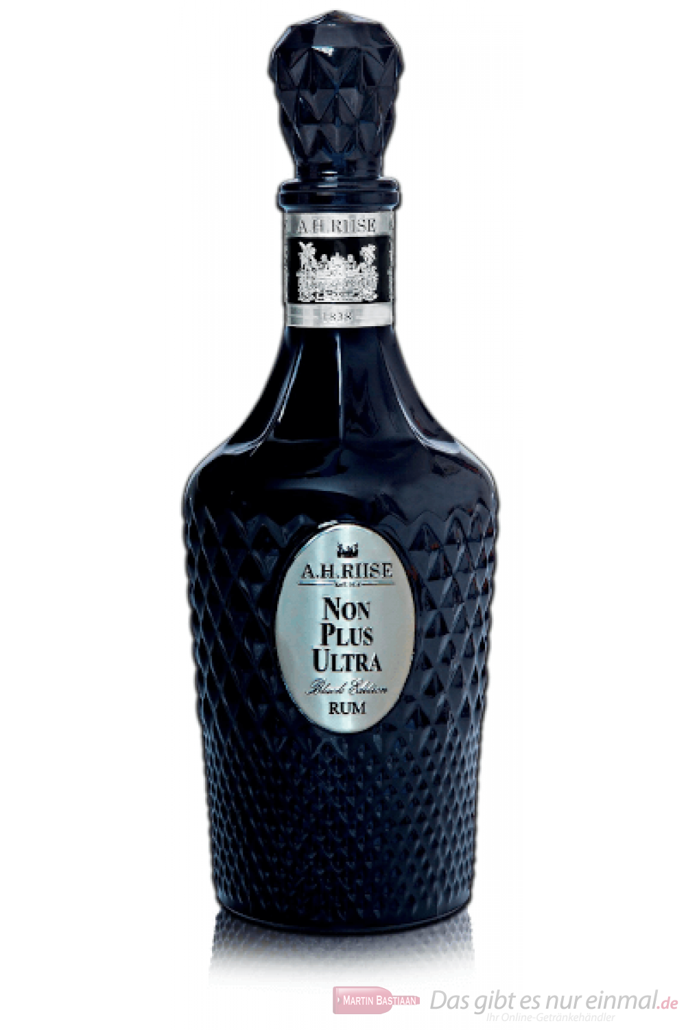 A. H. Riise Non Plus Ultra Black Edition Rum 0,7l