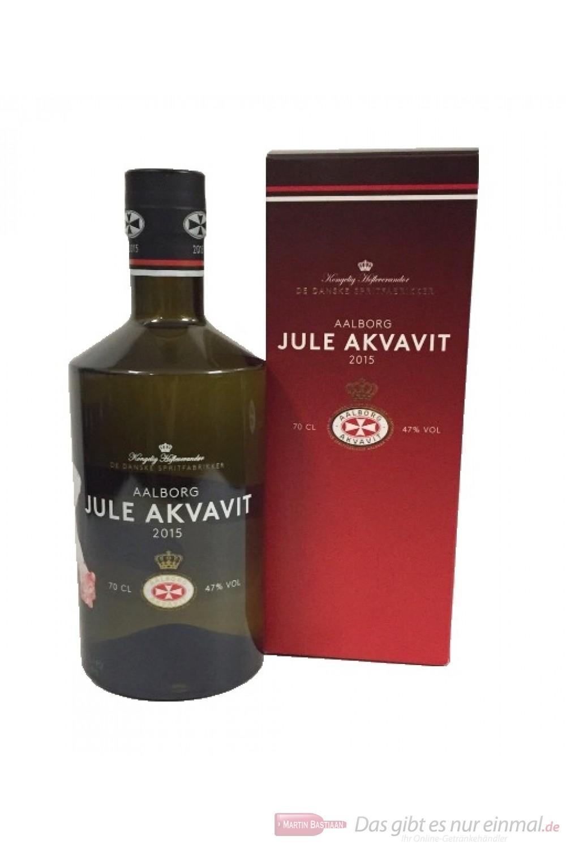 Aalborg Jule Akvavit Limited Edition 2015