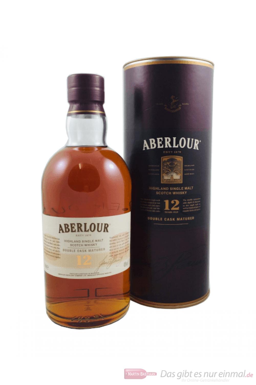 Aberlour 12 Years Double Cask Matured Single Malt Scotch Whisky 1,0l