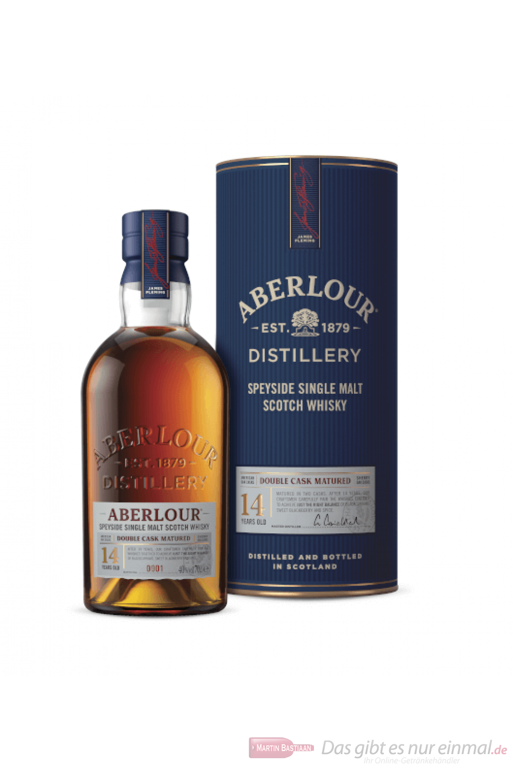 Aberlour 14 Years Double Cask Matured Single Malt Scotch Whisky 0,7l