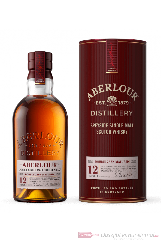 Aberlour 12 Years Double Cask Matured Single Malt Scotch Whisky 0,7l
