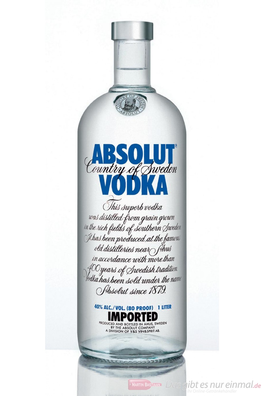 Absolut Wodka 40% 4,5l Großflasche Vodka