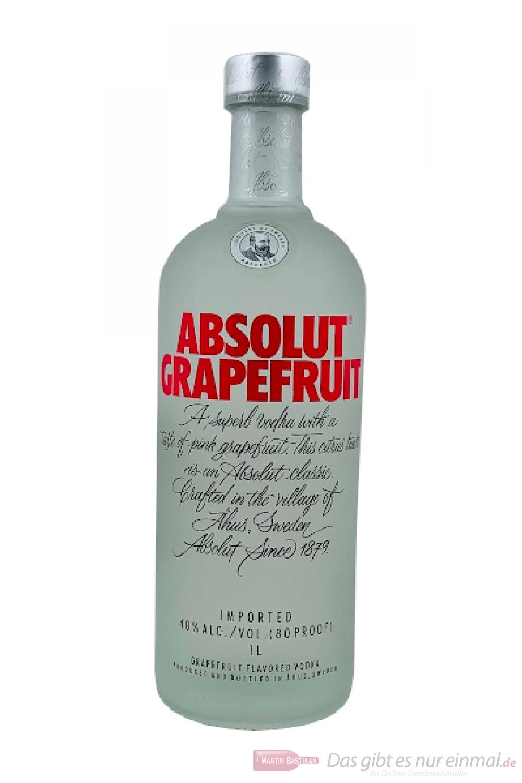 Absolut Grapefruit Vodka 1,0l
