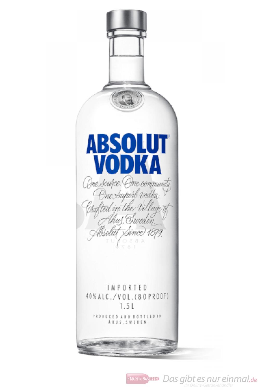 Absolut Vodka 1,5l