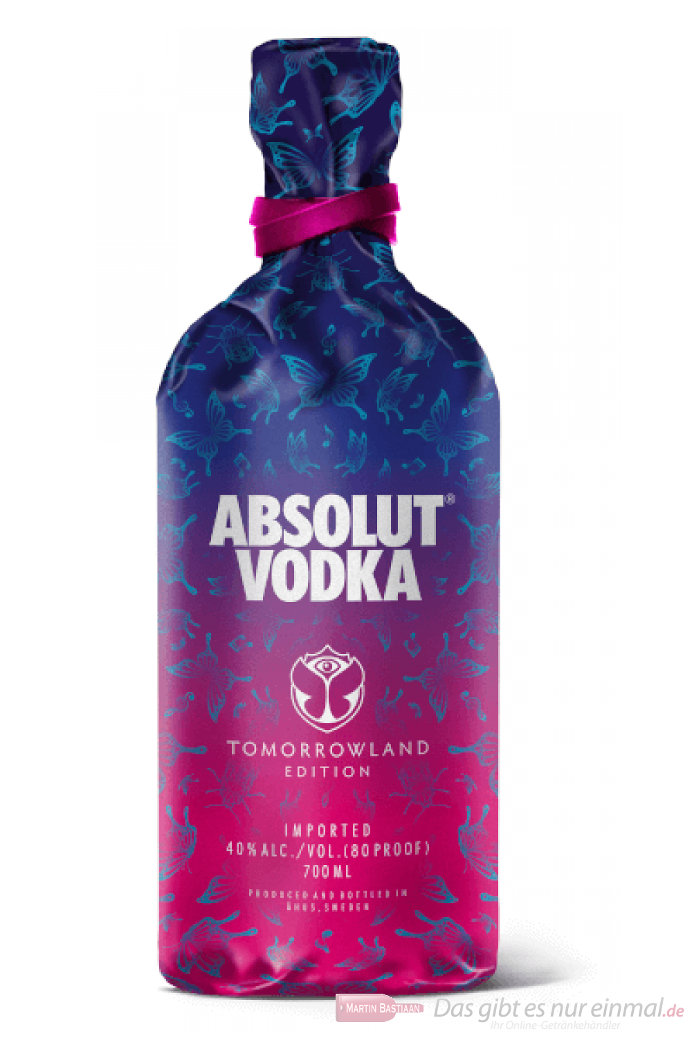 Absolut Vodka Tomorrowland Edition 0,7l