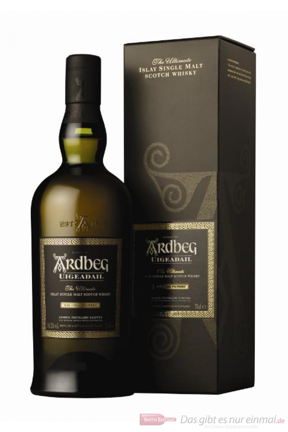 Ardbeg Uigeadail Single Islay Pure Malt Scotch Whisky 54,2% 0,7l