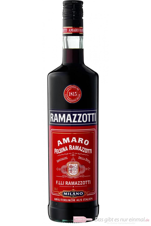 Amaro Ramazzotti Likör 30 % 1,0 l Flasche