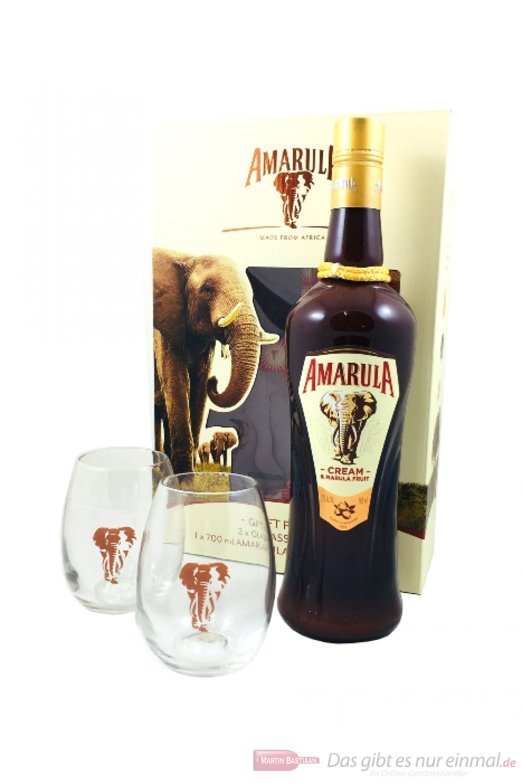 Amarula Cream Likör in Geschenkverpackung