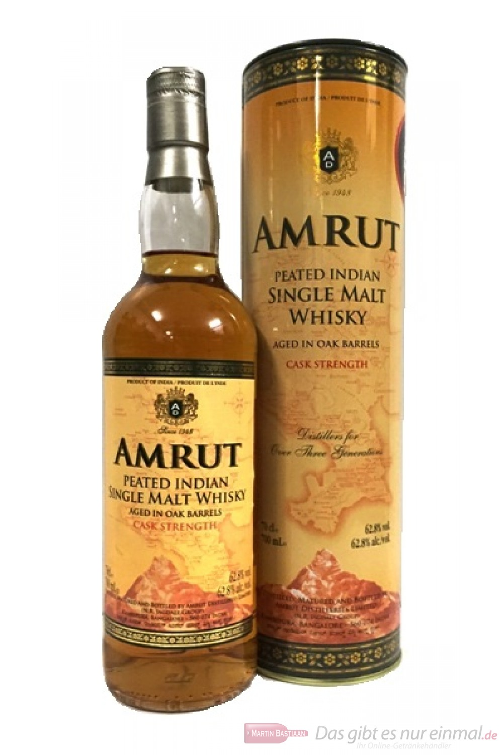 Amrut Indian Peated Cask Strength