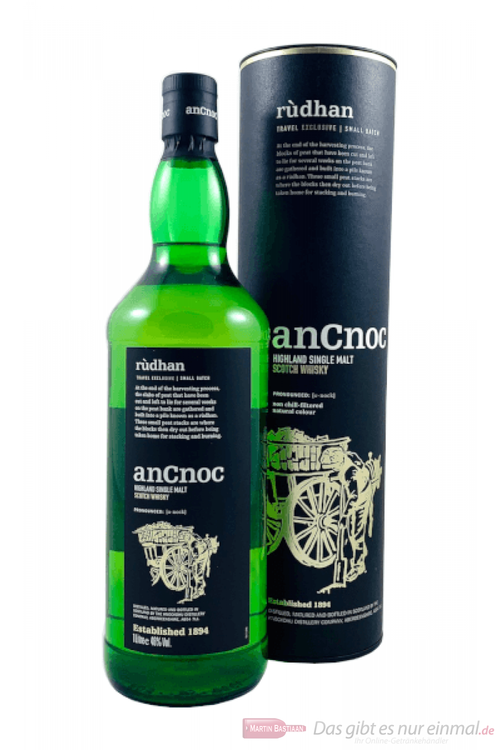 AnCnoc Rudhan Single Malt Scotch Whisky 0,7l