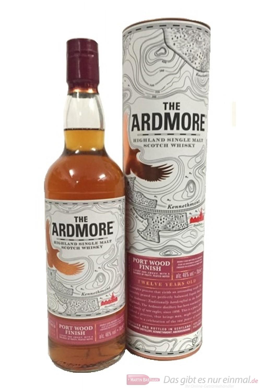 Ardmore 12 Years Port Wood Finish