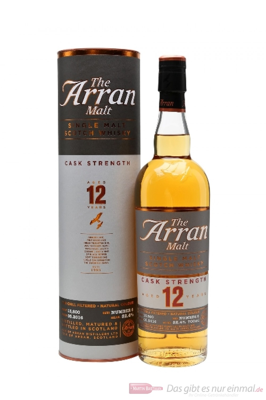 The Arran 12 years Cask Strength Batch 6