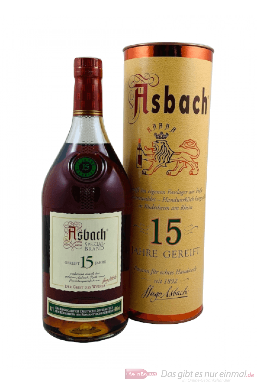 Asbach Spezialbrand 15 Jahre Weinbrand 0,7l