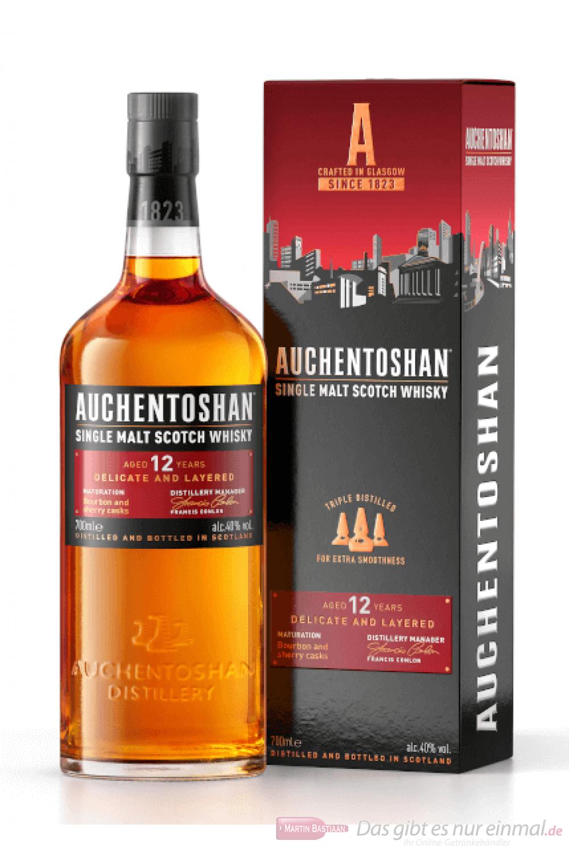Auchentoshan 12 Years Lowland Single Malt Scotch Whisky 0,7l