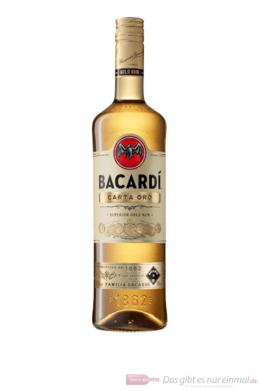 Bacardi Carta Oro Superior Gold Rum 0,7l
