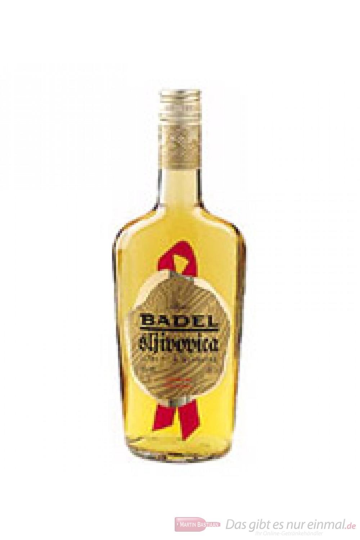Badel Slivovica alter Pflaumenbrand Obstler 40% 0,5l Obstbrand Flasche