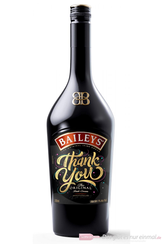 Baileys Thank You Original Irish Cream Likör