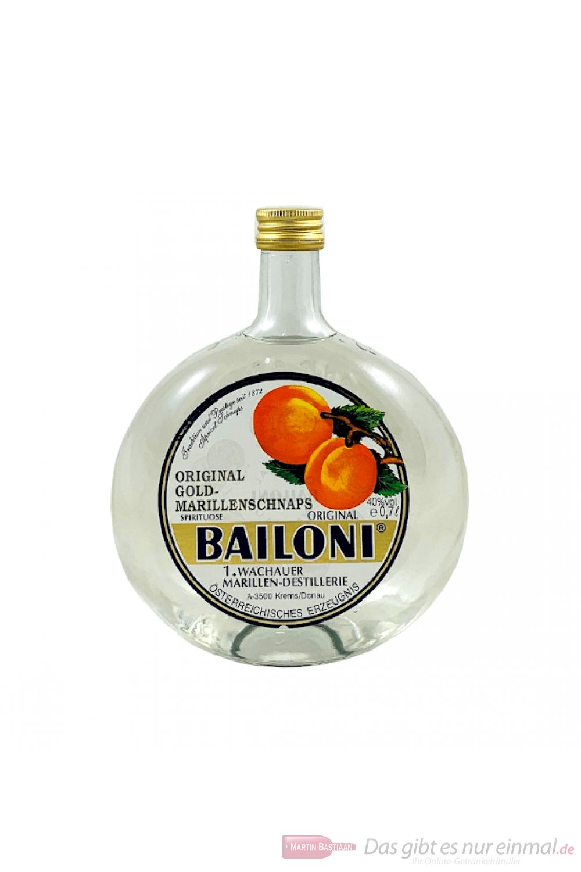 Bailoni Gold Marillenschnaps 0,7l