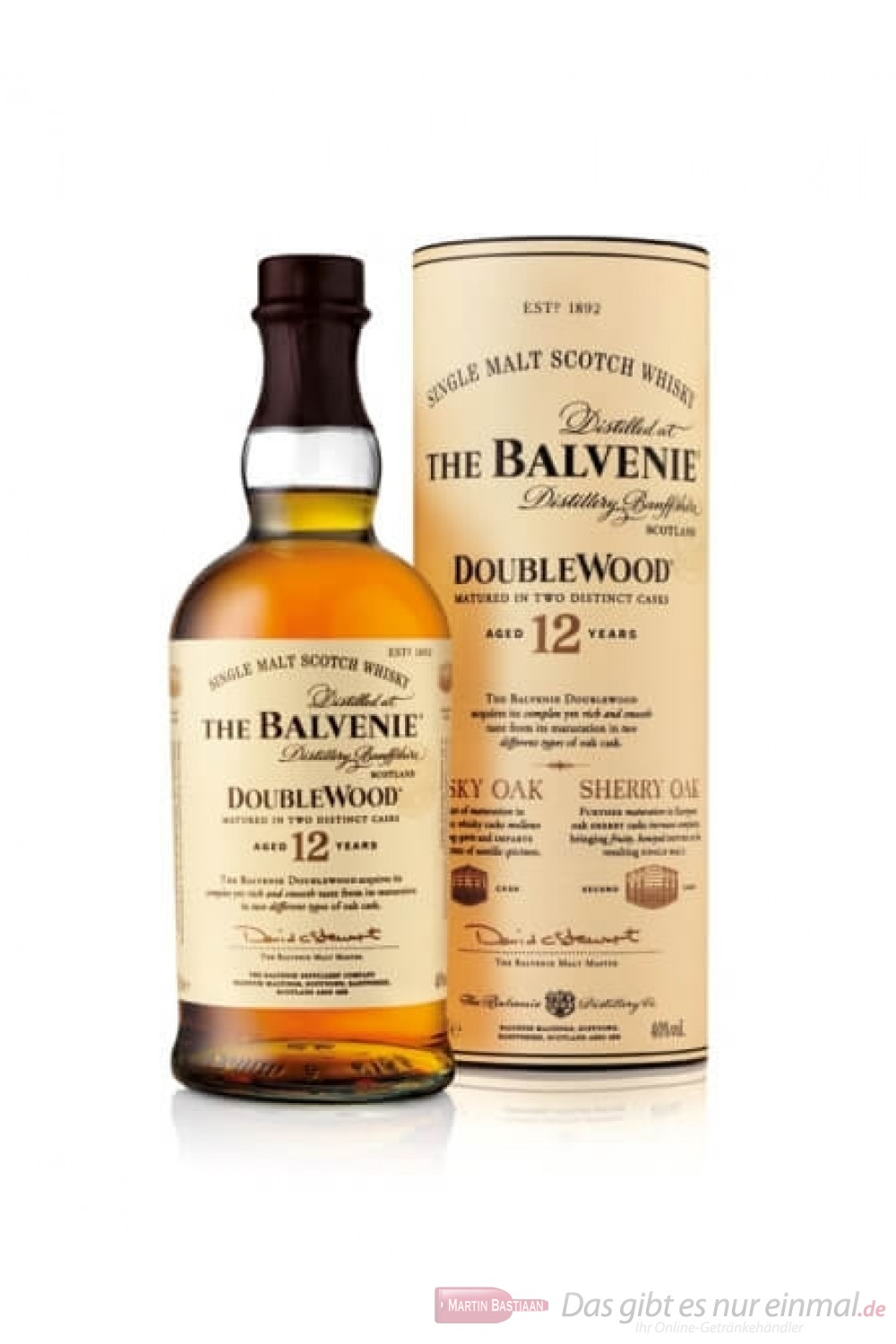 Review of The Balvenie (12 year) DoubleWood Single-Malt