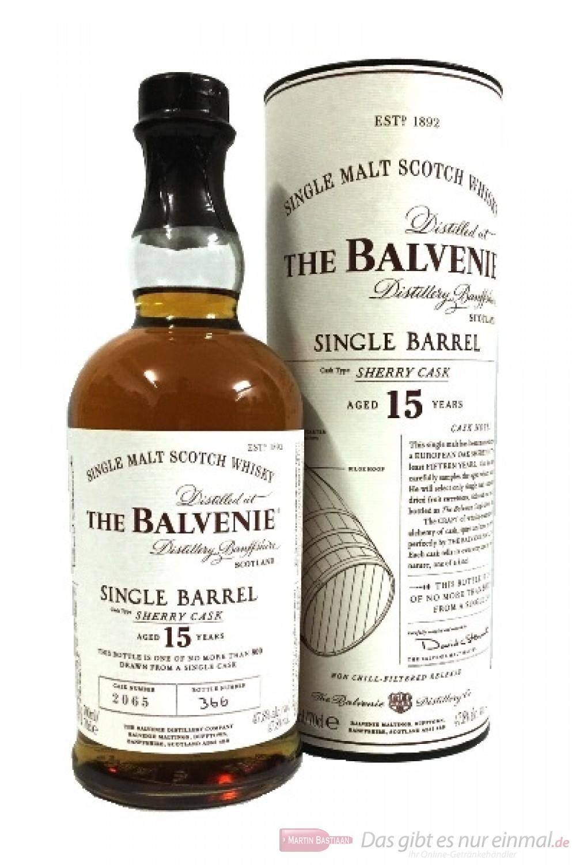 Balvenie Single Barrel 15 Years Sherry Cask 2065