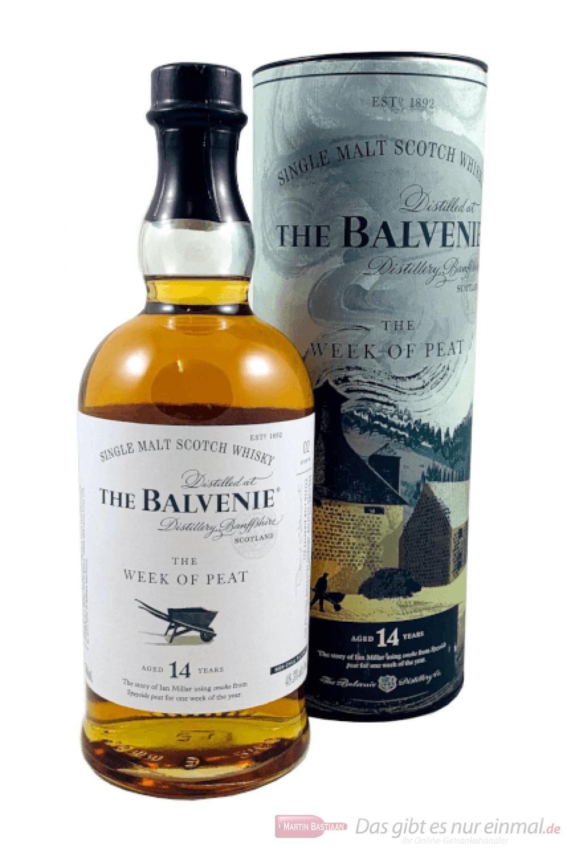 Balvenie 14 Years The Week of Peat Single Malt Scotch Whisky 0,7l
