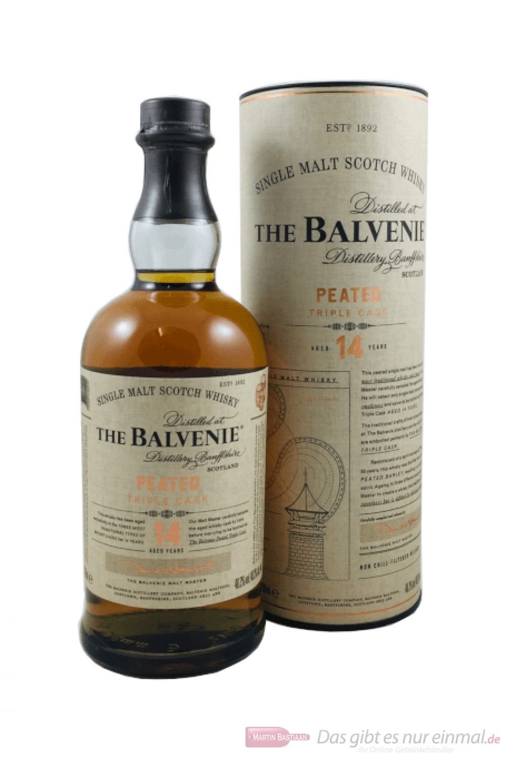 Balvenie 14 Years Peated Triple Cask