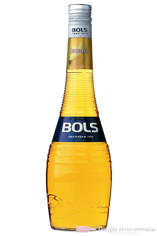 Bols Banana Likör 17% 0,7l Liqueur Flasche