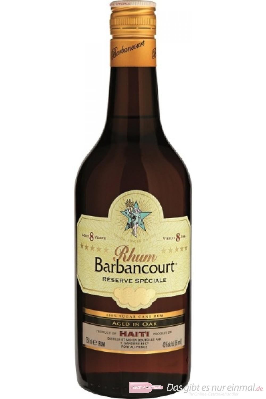 Barbancourt Five Stars Rhum 8 Jahre 43% 0,7l Flasche