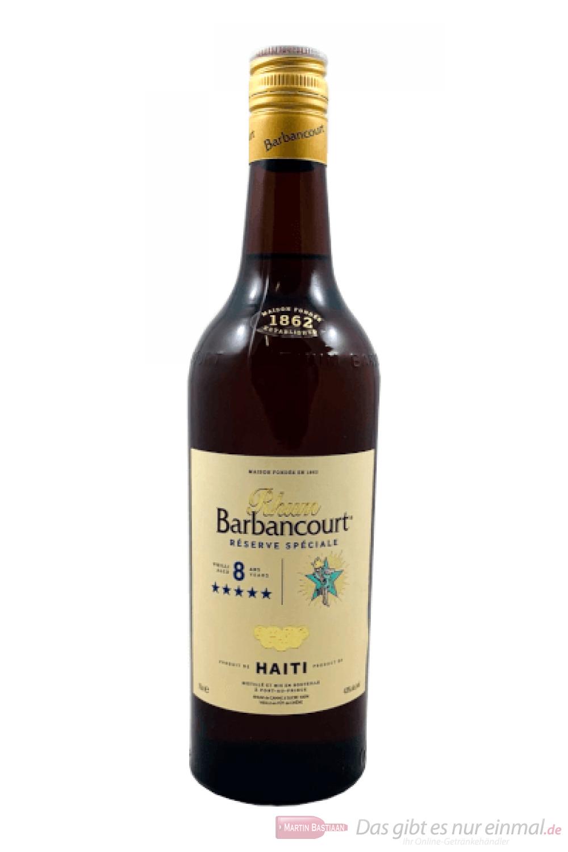 Barbancourt Five Stars Rhum 8 Jahre 0,7l