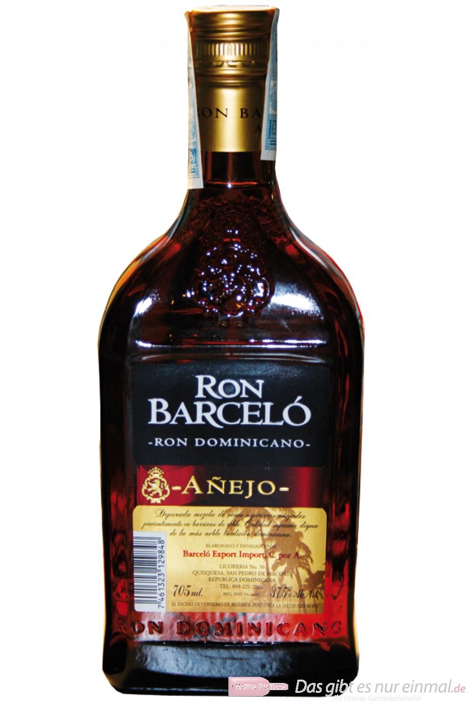 Barcelo Rum Anejo 3 Jahre Ron 38% 0,7l