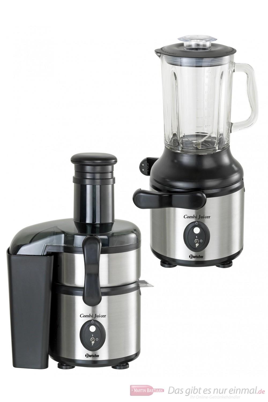 Bartscher Combi Juicer Saftpresse und Mixer in einem Gerät