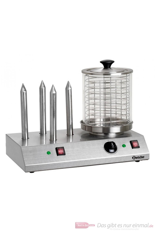 Bartscher Elektrisches Hot-Dog-Gerät mit 4 Spezial-Toaststangen