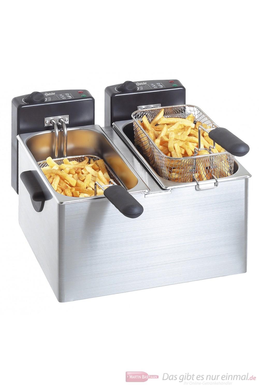 Bartscher Elektro Doppel Fritteuse MINI III