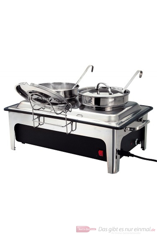 Bartscher Elektro-Suppenstation mit 2 Suppentöpfen a 4 l