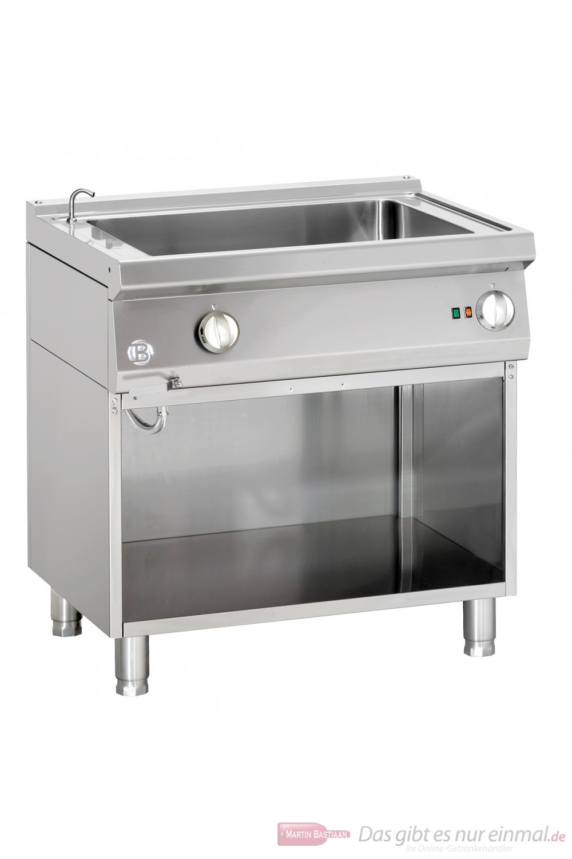 Bartscher Elektro Wasserbad 1 Becken mit Wassereinlaufhahn Serie 700