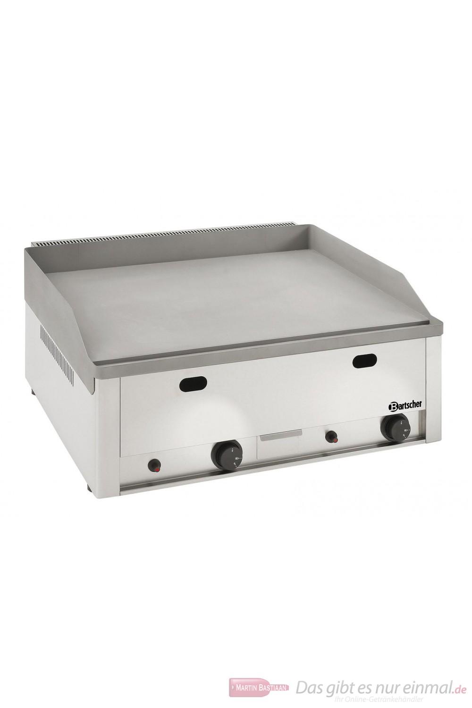 Bartscher großes Gas Griddle Tischgerät
