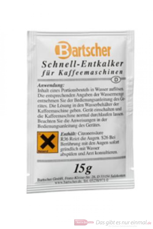 Bartscher Schnellentkalker 30 Päckchen a 15gr.