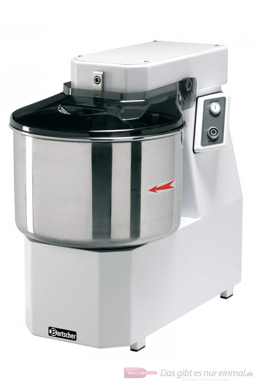 Bartscher Spiral-Teigknetmaschine Schwenkkopf 12 kg / 16 Liter