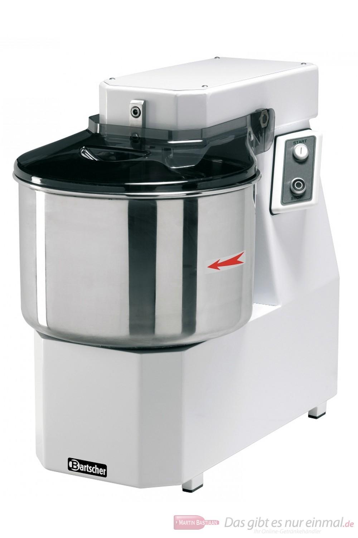 Bartscher Spiral-Teigknetmaschine Schwenkkopf 25 kg / 32 Liter
